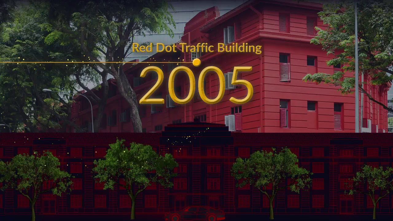 Red Dot Traffic Building Maxwell