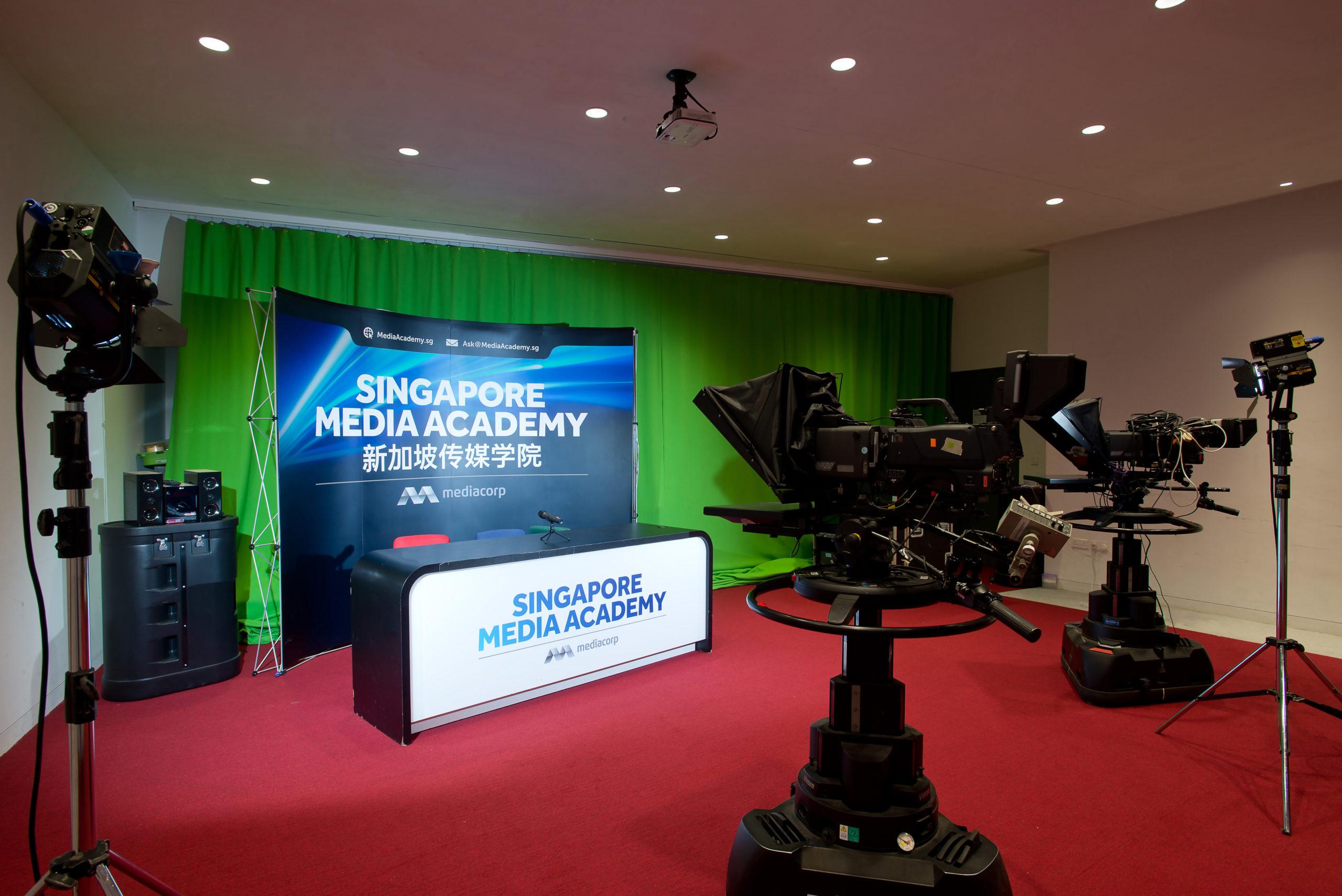 SMA Vista Studio Filming